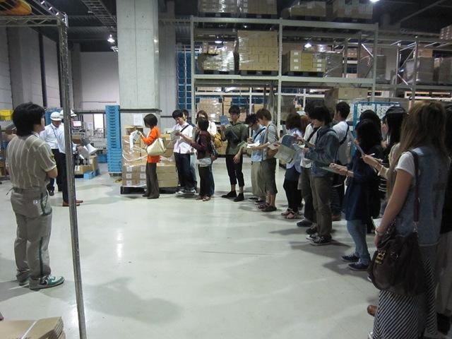 寄附講座(日本物流団体連合会)の授業の一環として、物流 ...