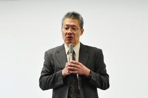 三浦先生の挨拶