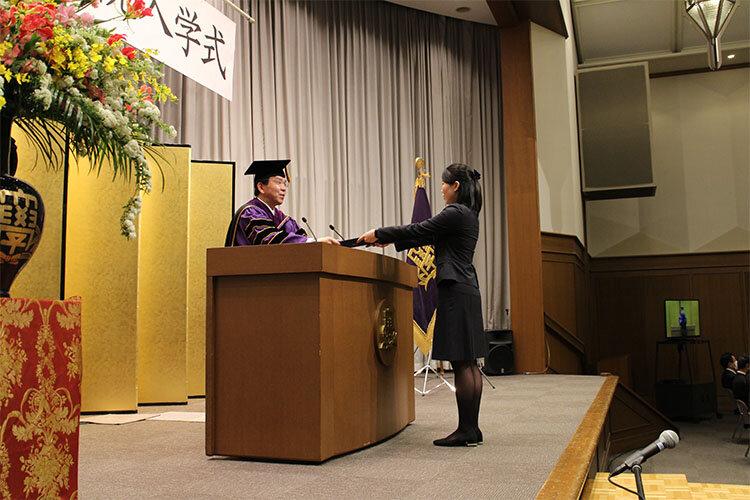 大学院入学式