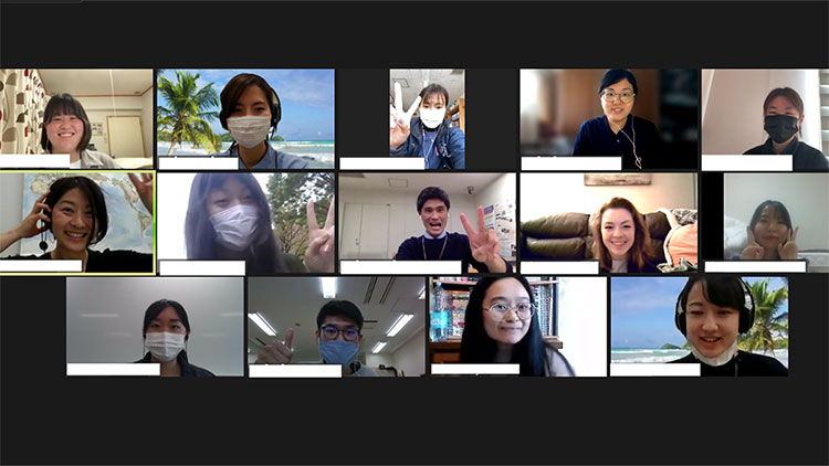 海外学生との交流イベント「Connecting with the World」