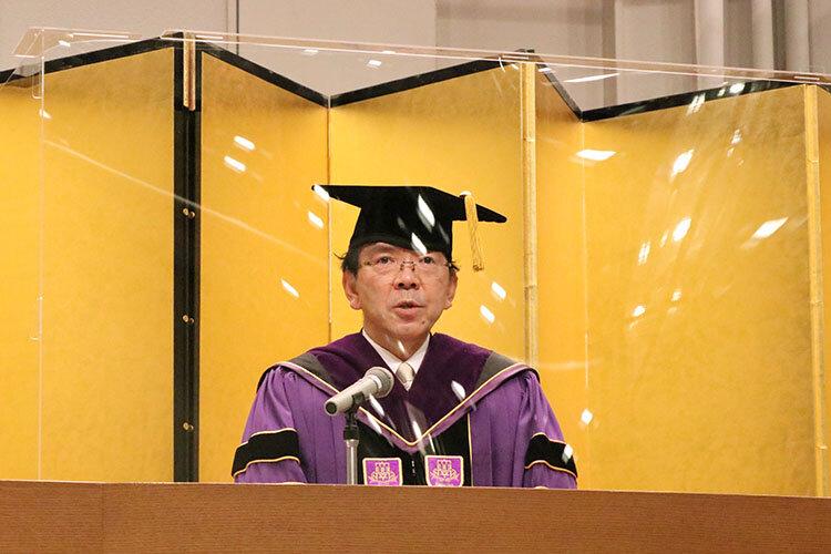 春学期卒業式および学位記授与式